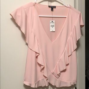 Express blouse pink size M